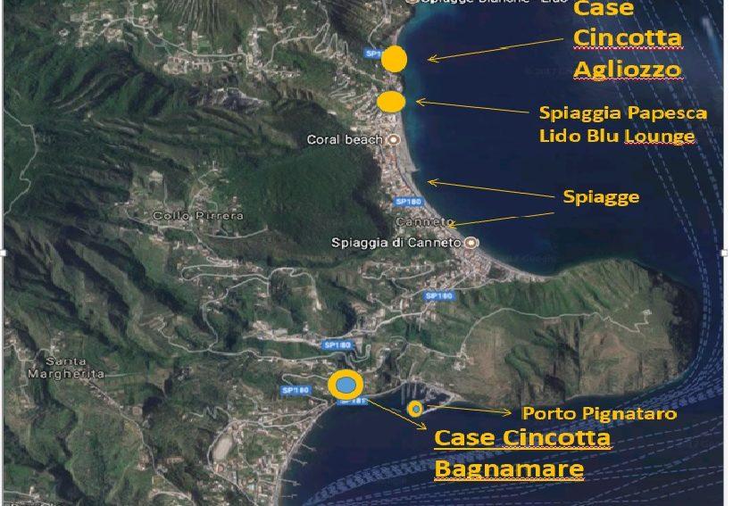 Mappa Google Earth con indicazioni