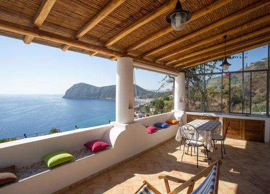 Villa agliozzo sopra - Lipari Eolie
